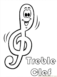 Music Note Coloring Pages Free Download Best Music Note Coloring