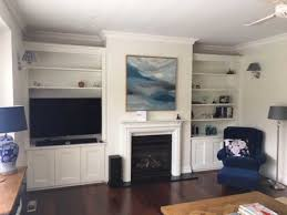 modern built in wall units melbourne