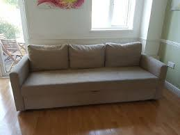 ikea friheten 3 seater sofa bed with