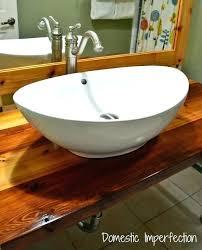 diy vessel sink vessel sink large white vessel sink make a concrete vessel sink diy vanity