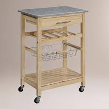 Granite Top Kitchen Trolley Kitchen Island Cutting Board Modern Kitchen Cart And Island With