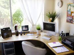home office desk design fresh corner. Fresh-corner-home-office-near-window-with-attractive- Home Office Desk Design Fresh Corner