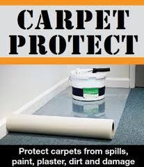 carpet protector film. carpet protector film - reverse wound c