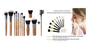 top 5 best makeup brush sets 2017