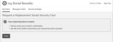 Your Online Security Card Social Request