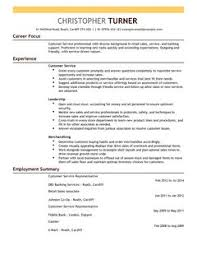 Customer Service Resume samples   VisualCV resume samples database Template net