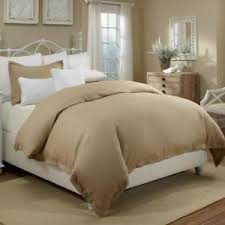 tan duvet cover. Image Is Loading New-Veratex-Sand-100-linen-Tan-Duvet-Cover- Tan Duvet Cover S