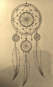 Dream Catcher Drawing Easy simple dreamcatcher designs Google Search Dream catchers Art 2