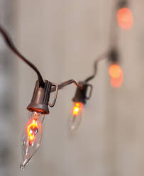 Flickering String Lights Flicker Flame String Lights