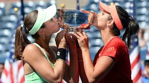 top shots at us open day 14 martina hingis and sania mirza
