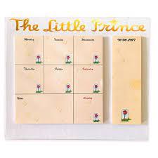 Küçük Prens Haftalık Masaüstü Planlayıcı