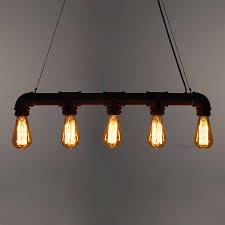 industrial pipe lighting. Industrial Steampunk Pipe Lighting \u2013 Unique\u0027s Co.