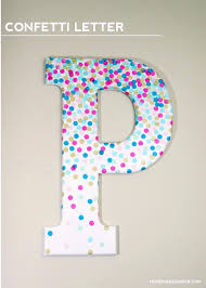 diy wall letters and initals wall art diy confetti letter cool architectural letter projects on diy girl nursery wall art with 41 amazing diy architectural letters for your walls