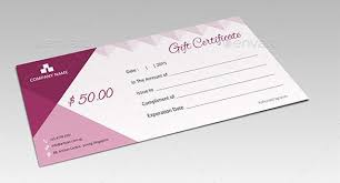 30 Photoshop Gift Certificate Template Pryncepality