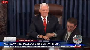 Moment U.S. Senate Passes Historic Trump Tax Reform Bill 51-49 ...