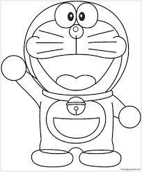 Download doraemon coloring pages from the resolutions bellow. Doraemon Cartoon Drawing Page 1 Line 17qq Com
