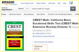 cbest california basic educational skills test preparation study   cbest learning resource cbest web portal for new teachers study guide study differently cbest math practice test · cbest reading sample