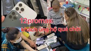 iPhone 12 Pro max hàng singapore khách thích hơn hàng mỹ - YouTube