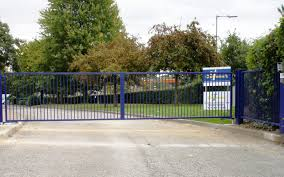 Image result for school driveway fence