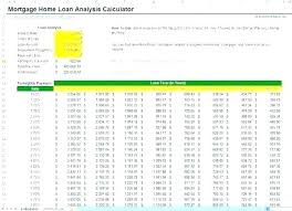 Download Loan Calculator Mortgage Calculator Excel Spreadsheet Template