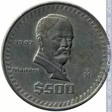 Conversion Chart Canadian Dollars To Mexican Pesos What Is The Value Of A Mexican 500 Peso Coin Quora