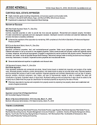Real Estate Appraiser Resume Gorgeous 48 Real Estate Resume Templates BestTemplates BestTemplates