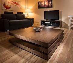 stylish dark wood coffee table modern