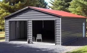 metal garages for 2