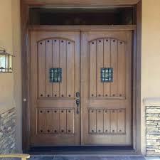 Rustic double front door Craftsman Rusticdoublefrontdoor Geekoutwith 21 Great Example Of Rustic Double Front Door Designs Interior
