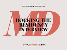 The Path To Md How To Rock Your Interviews Tea With Md Your