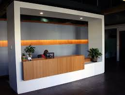 cool office reception areas. elevate your office reception desk with amber grain plyboo bamboo cool areas