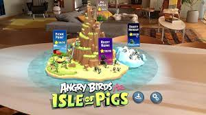 Angry Birds AR: Isle of Pigs Review: Der AR-Shooter im Test