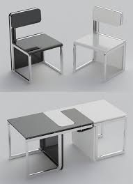 Space efficient furniture Japanese So Space Efficient Billyklippancom Just Two Handy Chairs In 2019 Products Love Pinterest