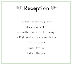 Wedding Reception Templates Free Wedding Reception Wording Invitation Templates Free Download