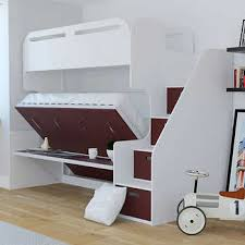 twin over full bunk bed with stairs. Jessie Twin Over Full Landscape Bunk Bed With Stair Storage \u0026 Desk, Stairs S