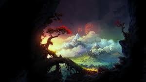 Fantasy Landscape HD Wallpaper ...