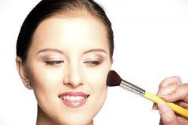 makeup application