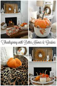 better home and gardens. Thanksgiving In Our Home With Better Homes And Gardens T