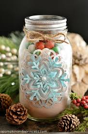 Ideas For Decorating Mason Jars For Christmas Homemade Peppermint Sugar Scrub A Pumpkin And A Princess 28
