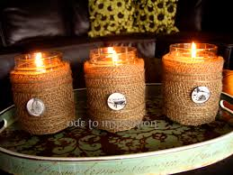 How To Decorate Candle Jars Candle Jar Makeover Ode To Inspiration 4