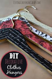 this was such an easy project diy decorative clothes hangers i have done so many diys here on the blog and i have to say this is one of my favorites