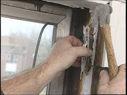 pull upper sash out