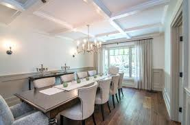 wainscoting dining room diy. Wainscoting Dining Room Gray Transitional With Gold  Shade Living Pictures . Diy