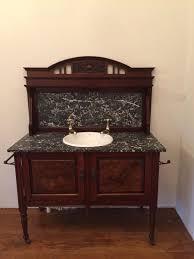 antique victorian washstand vanity unit period basin barber wilson taps