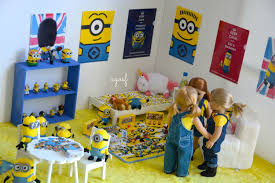 Minion Bedroom American Girl Doll Despicable Me Minion Dollhouse Room Youtube