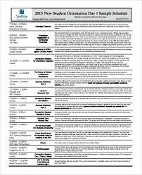 Employee Orientation Template New Hire Schedule Template New Hire Orientation Agenda New Hire