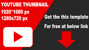 youtube video image size youtube video thumbnail size dimensions youtube