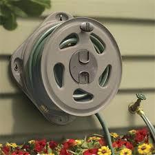 garden hose reel wall mount. Wall Mounted Garden Hose Reel Mount Home Depot