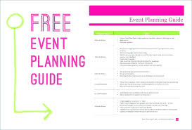 Online Party Planner Template Example Church Event Planning