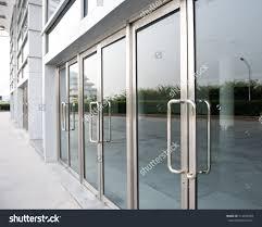 building glass door. supreme glass door office backyards building stock photo the doors t